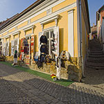 Embroidery shops at Szentendre